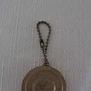 Oklahoma Pendant on Keychain NY World's Fair 1964-65