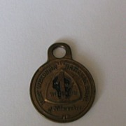 Wisconsin National Bank Milwaukee Metal Pendant or Tag