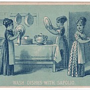 Trade Card: Enoch Morgan's Sons Sapolio for House Cleaning Purposes
