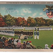 Dress Parade U. S. M. A. West Point New York NY PC