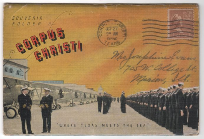 Souvenir Folder of Corpus Christi TX Texas