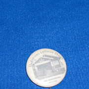 St Andrews Lutheran Church 20th Anniversary 1911-1931 Vintage Pinback Button