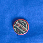 Buffalo NY New York Old Home Week September 1-7 Vintage Pinback Button