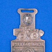 Payloader The Frank G Hough Co Libertyville IL Illinois Watch Fob