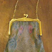Whiting and Davis Mesh Purse - Art Deco Style