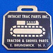 Intacat Trac Parts Inc E Brunswick NJ New Jersey Advertising Watch Fob