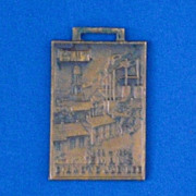 Emaus Golden Jubilee 1859-1904 Advertising Watch Fob