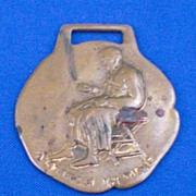 A E Anderson & Co Tailors Chicao IL Illinois Advertising Watch Fob