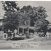 Old Colonial Tavern 1814 Bean Station TN Tennessee Postcard