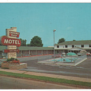 Cherokee Plaza Motel Jefferson City TN Tennessee Postcard