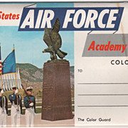 U S Air Force Academy Colorado Springs CO Colorado Souvenir Folder
