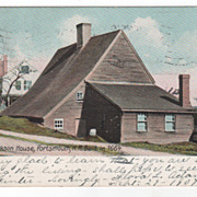 Old Jackson House Portsmouth NH New Hampshire Postcard