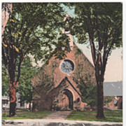 St James Church Greenfield MA Massachusetts Postcard