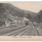 Hoosac Tunnel MA Massachusetts Postcard