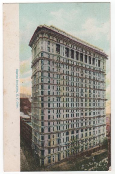 Empire Building New York City NY New York Postcard
