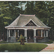 Woman's Building Whalom Park MA Massachusetts Vintage Postcard