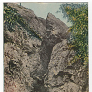Bears Den Greenfield MA Massachusetts Vintage Postcard