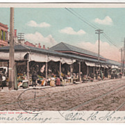 DPC French Market New Orleans LA Louisiana Vintage Postcard