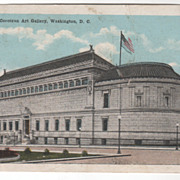 Corcoran Art Gallery Washington D C District of Columbia Vintage Postcard