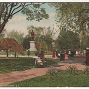 DuPont Park Washington DC District of Columbia Vintage Postcard