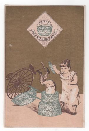 Granite Ironware St Louis Stamping Co St Louis Mo Missouri Victorian Trade Card