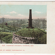 DPC Surrender Monument Vicksburg MS Mississippi Vintage Postcard