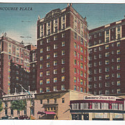 Hotel Concourse Plaza New York City NY New York Vintage Postcard
