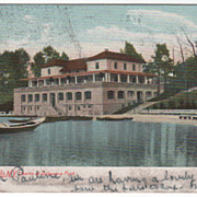 Buffalo NY New York Casino at Delaware Park Vintage Postcard