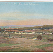 Cantonment  Presidio of San Francisco CA California Vintage Postcard