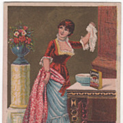 Lavine Powdered Soap for Washing Hartford Chemical Co CT Victorian Trade Card