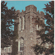 General Library Duke University Durham NC North Carolina Vintage Postcard