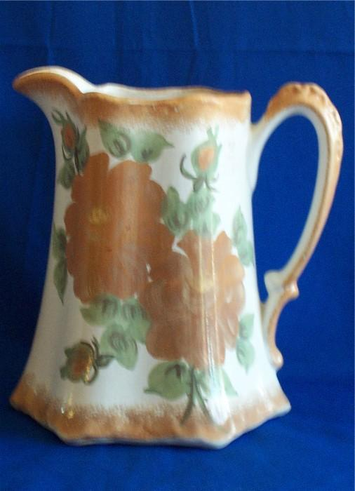 Large Cash Family Pottery Buttermilk Pitcher