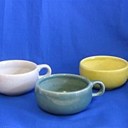 Three Russel Wright American Modern Cups