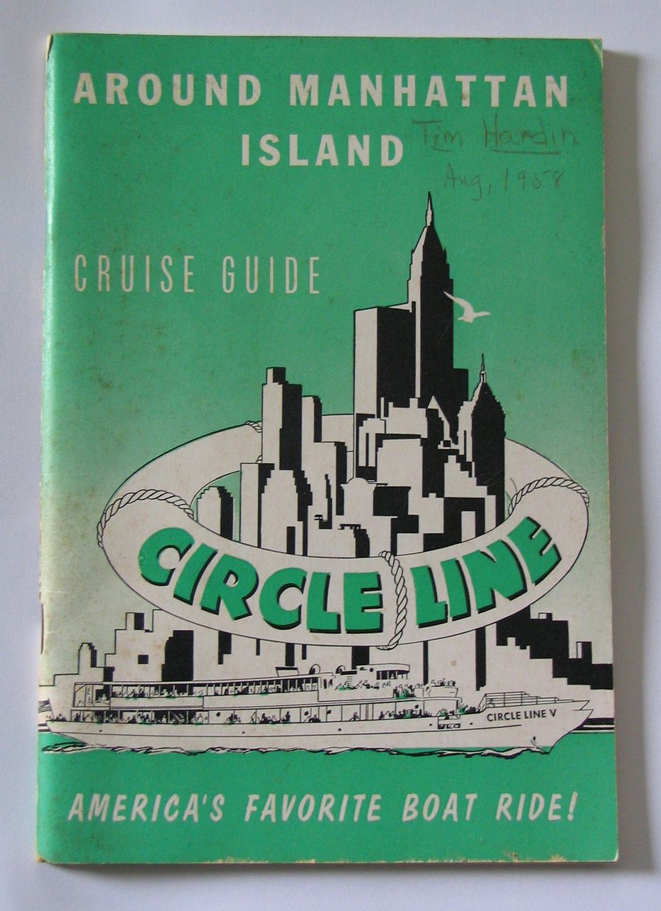 Around Manhattan Island - 1957 Circle Line Cruise Guide