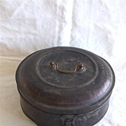 Toleware Spice Box with Individual Tins