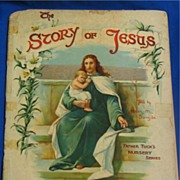 The Story of Jesus Booklet Father Tuck's Nursery Series