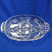 EAPC Early American Prescut Divided Relish Dish