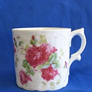 Child's Cup with Red Roses