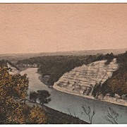 Genessee Gorge Castile NY New York Postcard