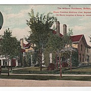 The Milburn Residence Buffalo New York Postcard