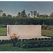 Grave of FDR Hyde Park New York NY Postcard