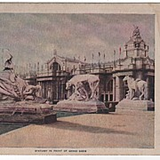 GRand Basin Statuary Louisiana Purchase Exposition St Louis MO 1904