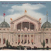 Agricultural Building Alaska Yukon Pacific Exposition Seattle WA 1909