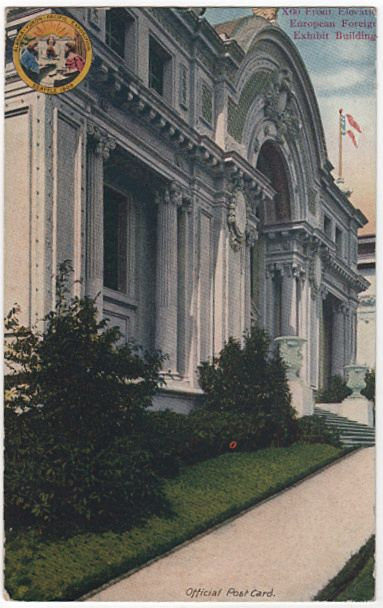 European Building Alaska Yukon Pacific Exposition Seattle WA 1909