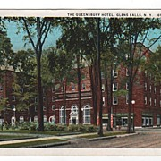 The Queensbury Hotel Glens Falls New York NY Postcard