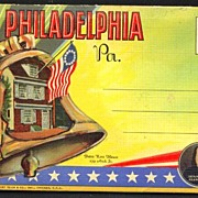 Souvenir Folder of Philadelphia Pennsylvania