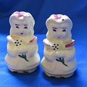 Shawnee Pottery Bo Peeps Salt & Pepper Shakers