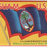 Guam U. S. A. Where America's Day Begins Souvenir Folder