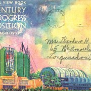 Souvenir Folder A Century of Progress Exposition Chicago 1933