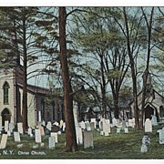 Christ Church Cooperstown New York NY Postcard